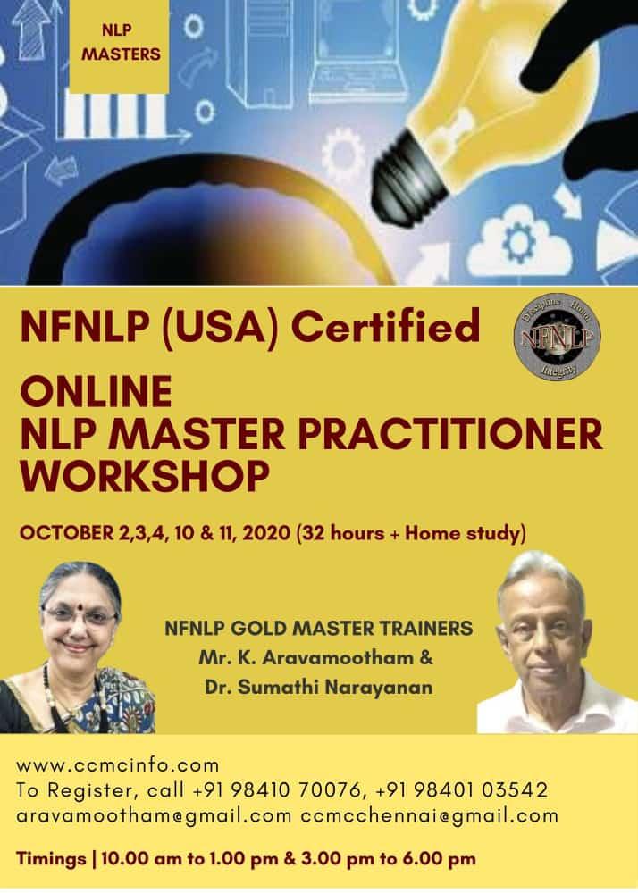 NFNLP's NLP Trainers - Dr. Sumathi Narayanan, Gold Master ...